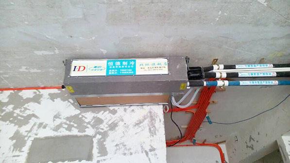 国兴北岸江山美的中央空调安装案例